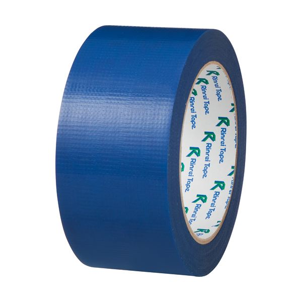 【スーパーセールでポイント最大44倍】(まとめ) リンレイ PEワリフカラーテープ 50mm×25m 青 674アオ 1巻 【×30セット】