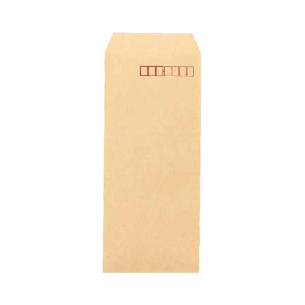 (まとめ) ピース R40再生紙クラフト封筒 長4 70g/m2 〒枠あり 業務用パック 401-80 1箱(1000枚) 【×10セット】
