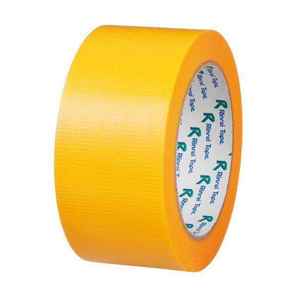 【スーパーセールでポイント最大44倍】(まとめ) リンレイ PEワリフカラーテープ 50mm×25m 黄 674キ 1巻 【×30セット】