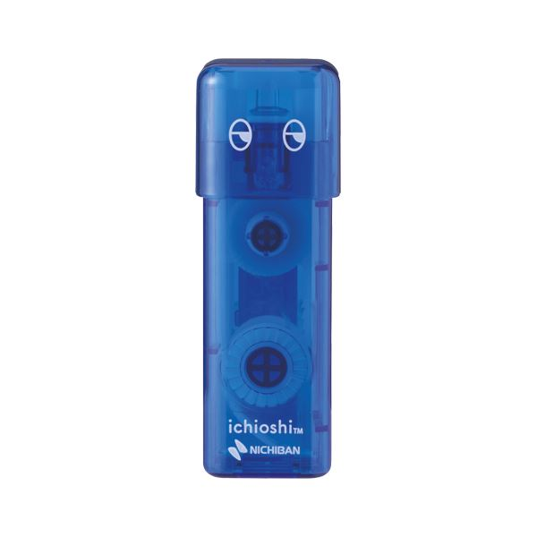 (まとめ) ニチバン テープのり tenori イチオシ ブルー【×50セット】