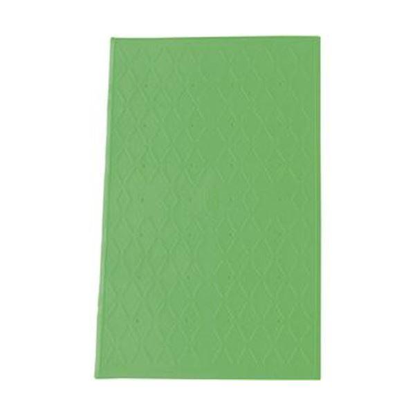 (まとめ)アロン化成 吸着すべり止めマット浴槽内用 S 36×55cm グリーン 535-449 1枚【×3セット】