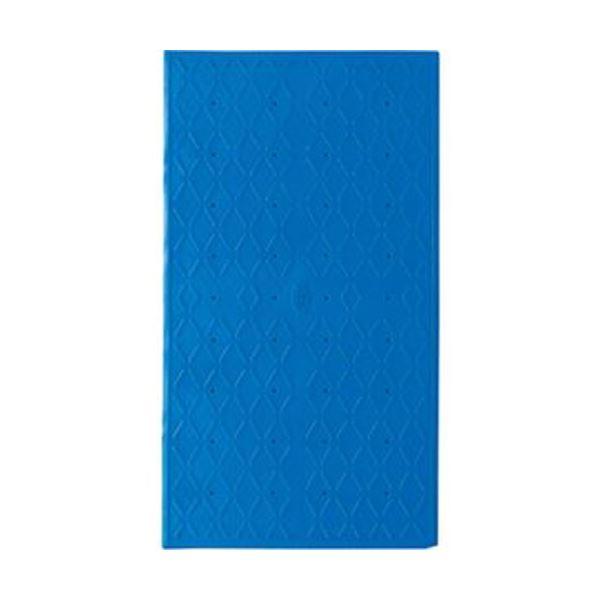 (まとめ)アロン化成 吸着すべり止めマット浴槽内用 S 36×55cm ブルー 535-447 1枚【×3セット】
