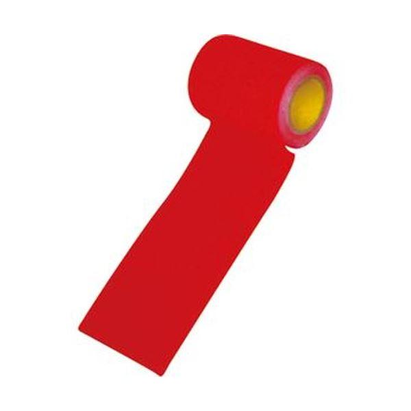 (まとめ)ウィズ 万能すべり止めテープII幅9.5cm×長さ3m 赤 1巻【×3セット】