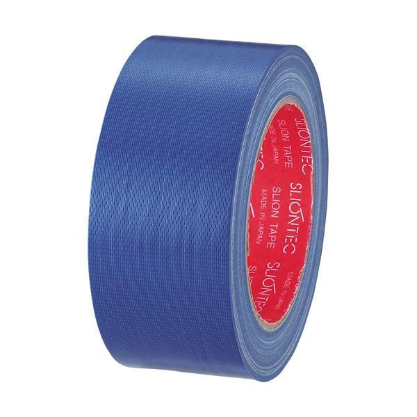 (まとめ) スリオンテック カラー布テープ 50mm×25m 青 343702NB 1巻 【×30セット】