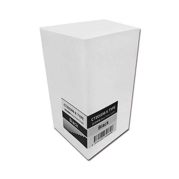 (まとめ)トナーカートリッジ CT201398汎用品 ブラック 1個【×3セット】