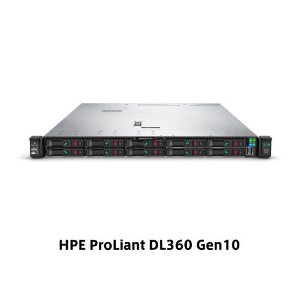 HP(Enterprise) DL360 Gen10 Xeon Silver 4208 2.1GHz 1P8C 16GBメモリホットプラグ 4LFF(3.5型) S100i 500W電源 366FLR NC GSモデル