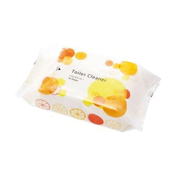(まとめ)TANOSEE トイレクリーナー重曹&セスキ シトラスオレンジの香り 1セット(1200枚:30枚×40パック)【×3セット】