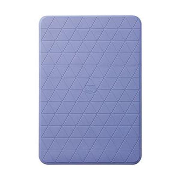 (まとめ)アロン化成 おく楽すべり止めマット 小ブルー 535-131 1枚【×3セット】