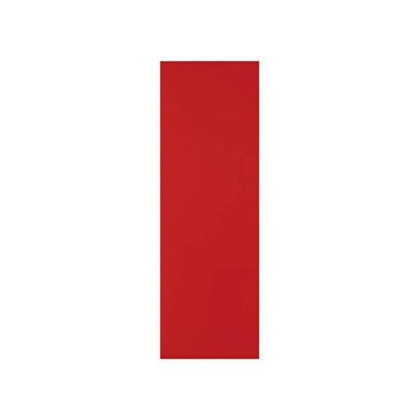 (まとめ) TRUSCOマグネットシート艶有100×300mm 赤 MS-A1-R 1枚 【×50セット】