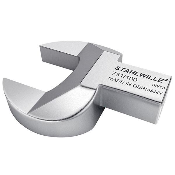 【受注生産品】 STAHLWILLE(スタビレー) 731/100-24 トルクレンチ差替ヘッド スパナ(58211024), 田富町 146d6afc