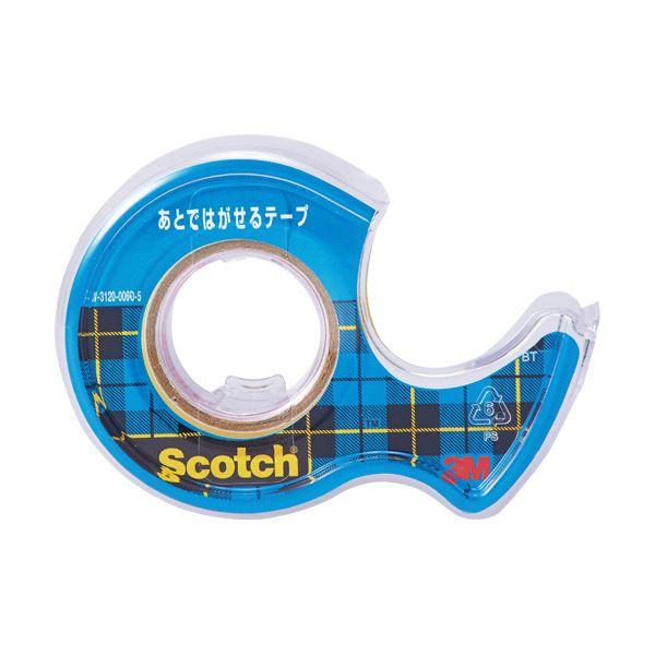 (まとめ) 3M スコッチ あとではがせるテープ15mm×8m CA15-DS 1個 【×50セット】