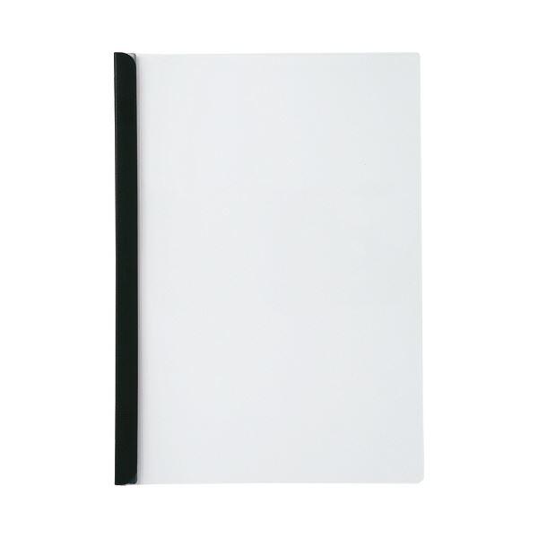 ついに再販開始 コピー用紙約50枚収納の厚とじタイプ まとめ リヒトラブ リクエストスライドバーファイル 厚とじタイプ A4タテ 50枚収容 1パック 黒 開催中 10冊 G1730-24 ×10セット
