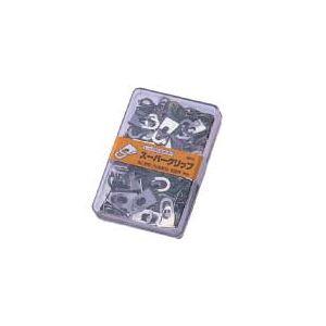 (まとめ) オート スーパークリップSC800シルバー 1箱(100発) 【×30セット】