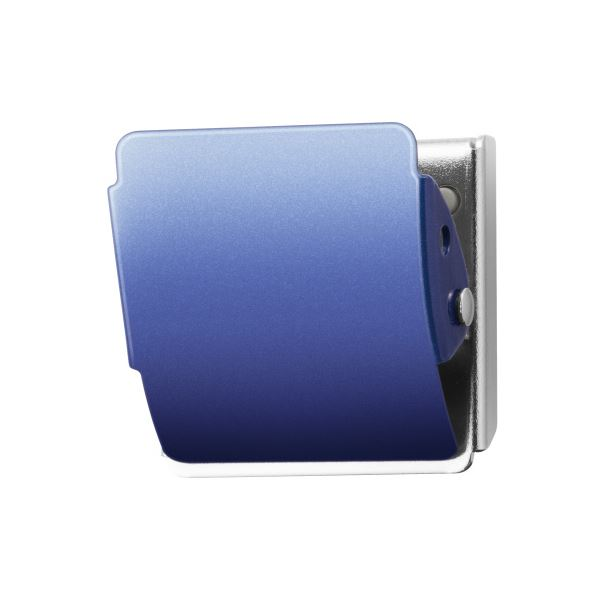 (まとめ)プラス マグネットクリップ CP-040MCR M ブルー【×50セット】