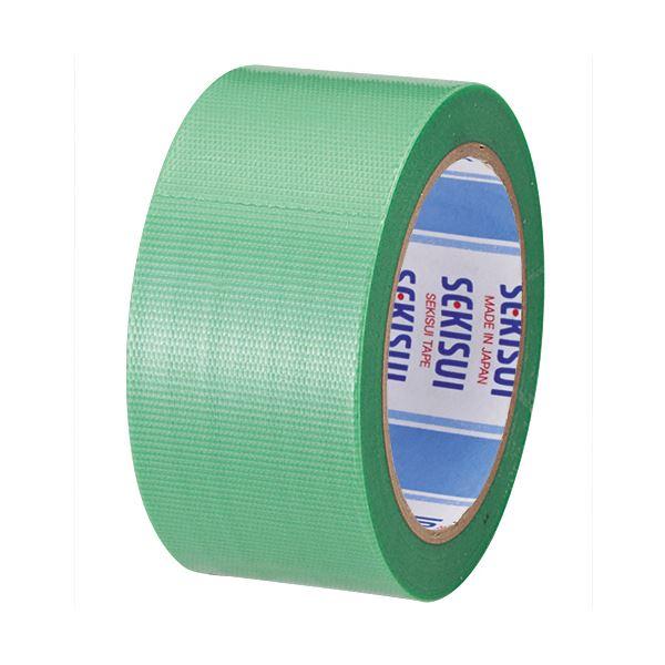 【スーパーセールでポイント最大44倍】(まとめ) 積水化学 透明クロステープ No.781 50mm×25m 緑 N78SG03 1巻 【×30セット】
