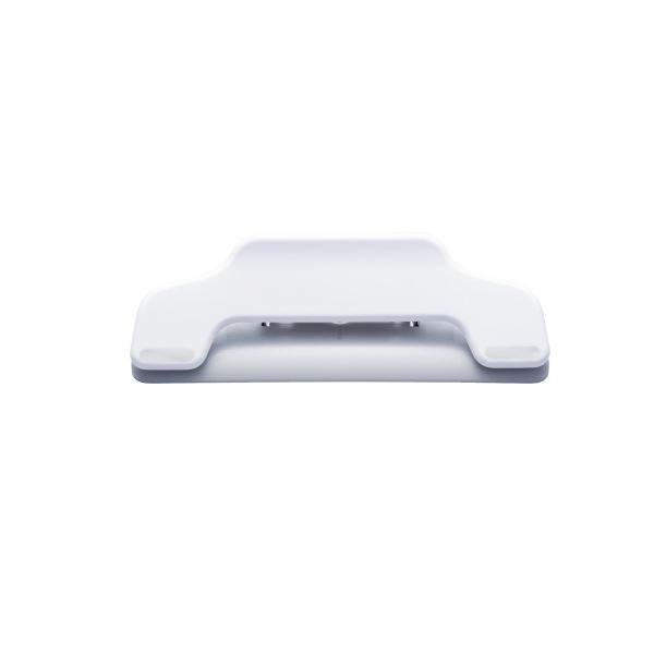 (まとめ)プラス マグネットクリップワイドCP-123MW ホワイト【×50セット】