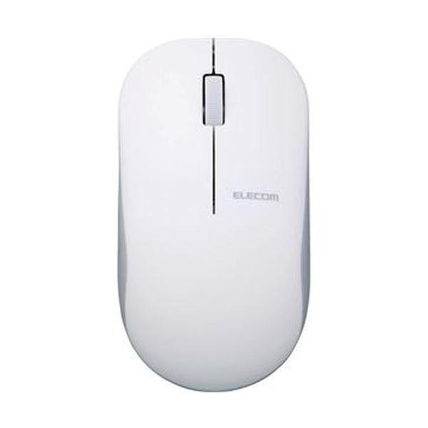 (まとめ)エレコム Bluetooth4.03ボタンIR LEDマウス ホワイト M-K7BRWH/RS 1個【×3セット】
