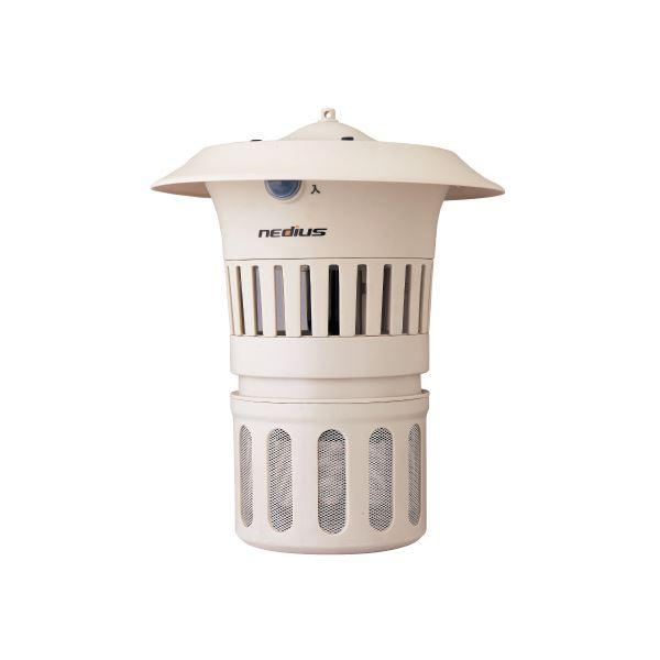 【スーパーセールでポイント最大44倍】(まとめ)スイデン 吸引式捕虫器 防雨型 NMT-15B1LG【×5セット】