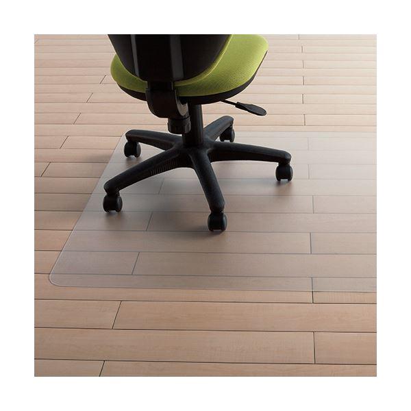 至高 キャスターによる床の汚れや傷つきの防止にはチェアマットがおすすめ アイリスチトセ NEW売り切れる前に☆ ポリカチェアマット 1枚 PCM-129K