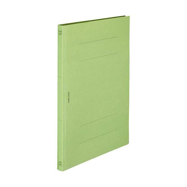 【スーパーセールでポイント最大44倍】(まとめ) ライオン事務器 フラットファイル(環境)樹脂押え具 B4タテ 150枚収容 背幅18mm 緑 A-509KB4S 1冊 【×100セット】