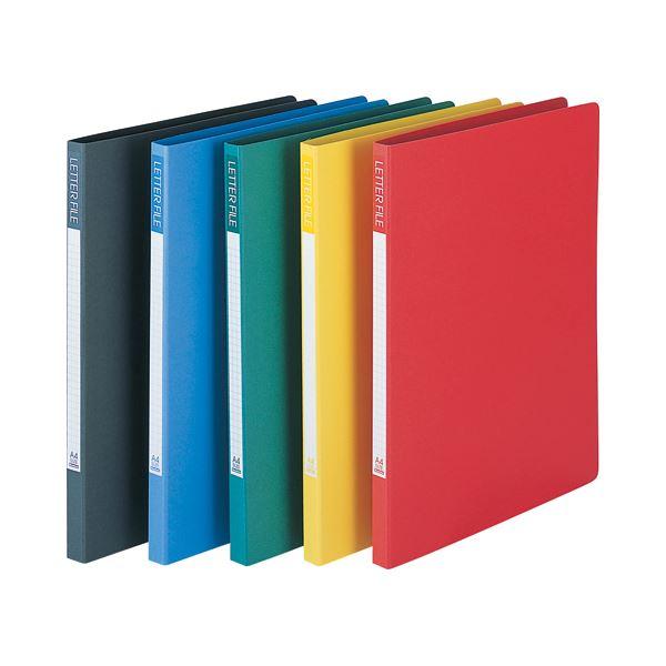 (まとめ) ビュートン レターファイル A4タテ110枚収容 背幅18mm レッド SLF-A4S-R 1冊 【×50セット】