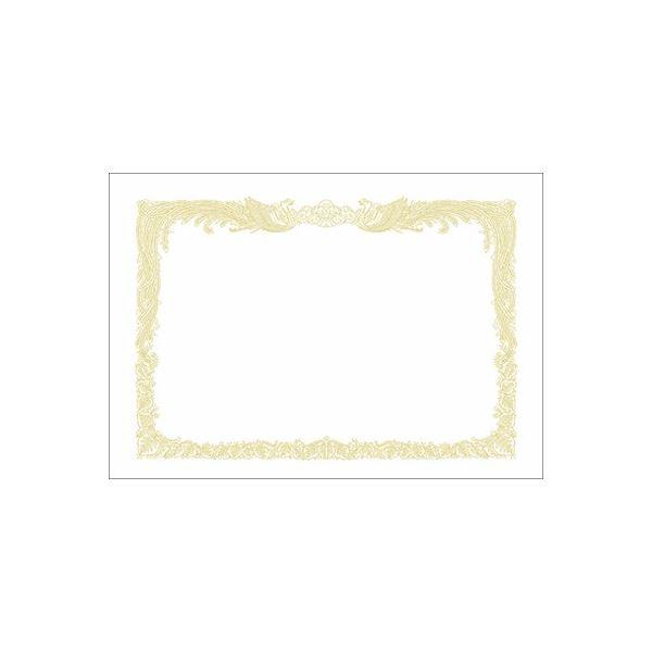 【マラソンでポイント最大43倍】(まとめ)タカ印 賞状用紙 10-1160 A4縦書 百枚【×10セット】