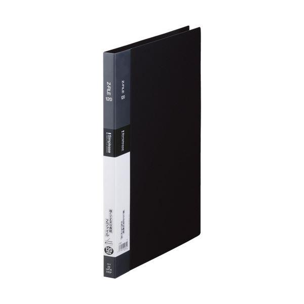(まとめ) キングジム シンプリーズ ZファイルA4タテ 120枚収容 背幅17mm 黒 578SP 1セット(10冊) 【×10セット】