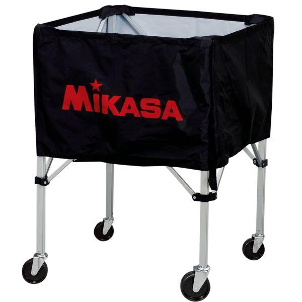 MIKASA(ミカサ)器具 ボールカゴ 屋外用(フレーム・幕体・キャリーケース3点セット) ブラック 【BCSPHL】
