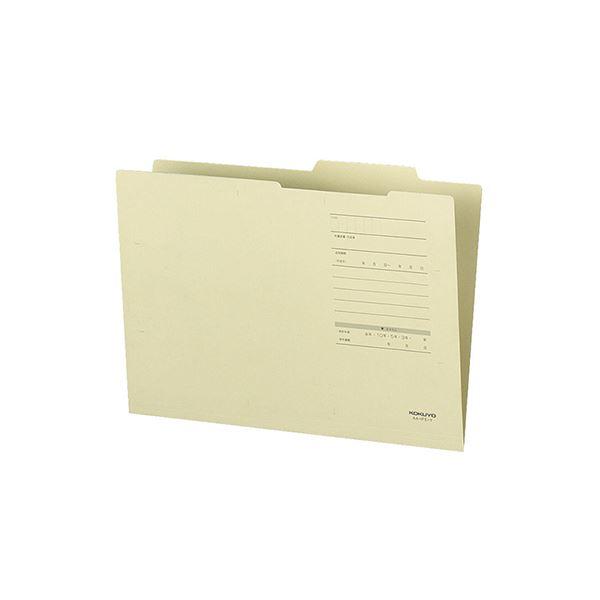 (まとめ) コクヨ A4ジャスフォルダー(Eタイプ)黄 A4-IFE-Y 1セット(10冊) 【×30セット】