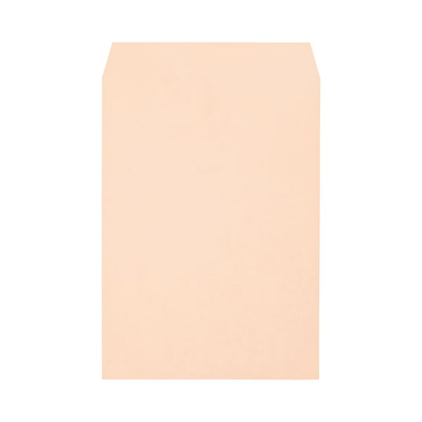 キングコーポレーション ソフトカラー封筒角2 100g/m2 ピンク 業務用パック 160202 1箱(500枚)