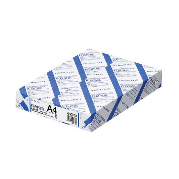 コクヨ KB用紙(共用紙)A4 KB-29 1箱(2500枚:500枚×5冊)