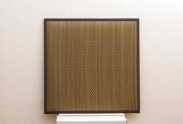 置き畳 ユニット畳 『タイド』 ブラウン 82×82×2.3cm(6枚1セット)(中材:低反発ウレタン+フェルト)【ブラウン】
