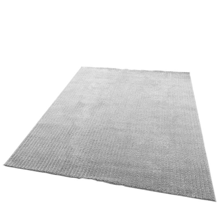 +PLUS HEAT 国産ラグマット ホットカーペットカバー (床暖房対応・ホットカーペット対応)190×240cm(約3畳)【グレー】