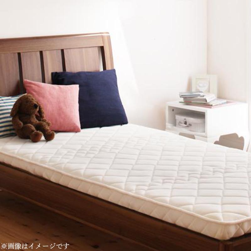 子どもの睡眠環境を考えた 安眠マットレス 薄型・軽量・高通気 ジュニア ポケットコイル EVA エヴァ セミシングル ショート丈
