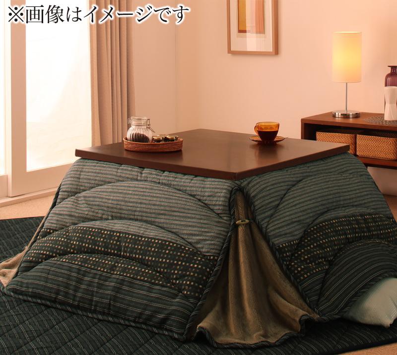しじら織り省スペースこたつ布団 紫月 しづき こたつ用掛け布団 4尺長方形(80×120cm)【代引不可】
