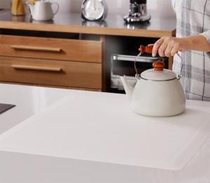 透明ラグ・シリコンマット スケルトシリーズ Skelt スケルト キッチンカウンター保護マット 60×65cm【代引不可】