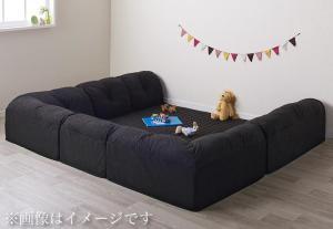 こたつに合わせるフロアコーナーソファ Wille ヴィレ コの字 マット部分サイズ 190×190cm 厚さ15mm【代引不可】