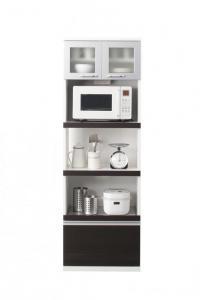 開梱設置付 奥行41cmの薄型モダンデザインキッチン収納 Sfida スフィーダ キッチンボード 幅60