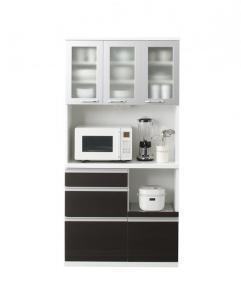 開梱設置付 奥行41cmの薄型モダンデザインキッチン収納 Sfida スフィーダ キッチンボード 幅90