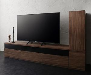 キャビネットが選べるテレビボードシリーズ add9 アドナイン 2点セット(テレビボード+キャビネット) 木扉 幅180【代引不可】