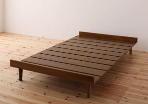 ショート丈北欧デザインベッド Niels ニエル ベッドフレームのみ セミシングル ショート丈