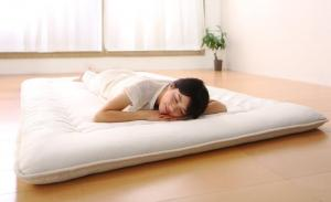 布団が収納できる・美草・小上がり畳ベッド 専用別売品(敷布団) セミダブル