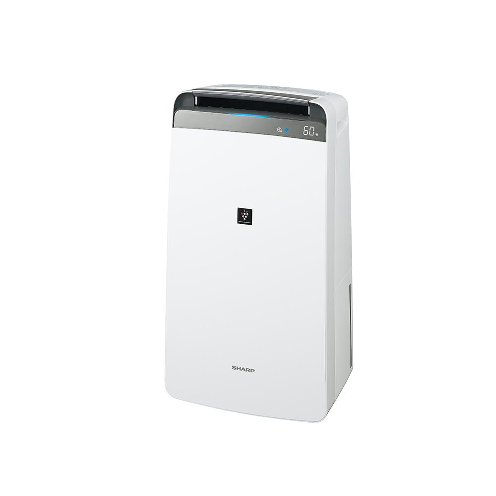 【あす楽】【送料無料】SHARP 衣類乾燥除湿機 CV-L180-W ホワイト プラズマクラスター7000 シャープ