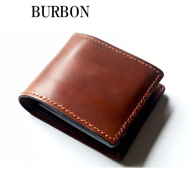 fad4e11c33db オール コードバン 二つ折り財布(ホーウィン社シェルコードバン) 【札入れホーウィン社マーク仕様】