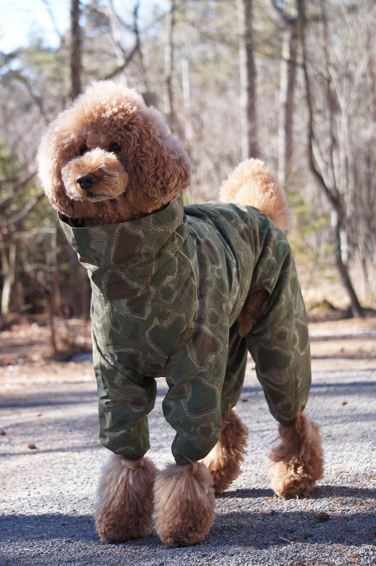 【Hurtta】【フルッタ】・ドッグレインコート 「Downpour Suit ダウンポアスーツ」大型犬用