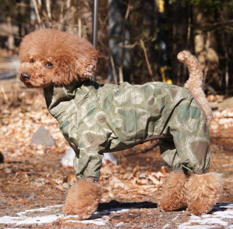【Hurtta】【フルッタ】・ドッグレインコート 「Downpour Suit ダウンポアスーツ」小型犬用