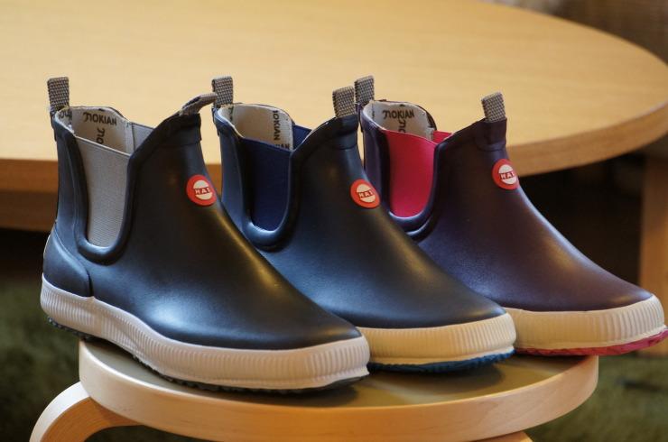 핀란드 발/고무 신발 Nokian Footwear ノキアン 신발 Hai 시리즈 러 버 부츠 장화 레인 슈즈