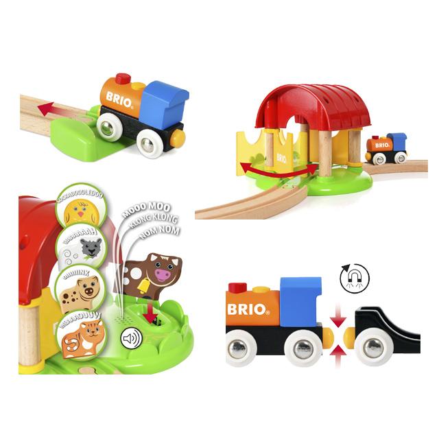 【10%OFFクーポン配布中】 知育玩具 BRIO 33826 プレゼントに最適 ブリオレールシリーズ 木製玩具 マイファーストファーム マイファーストシリーズ