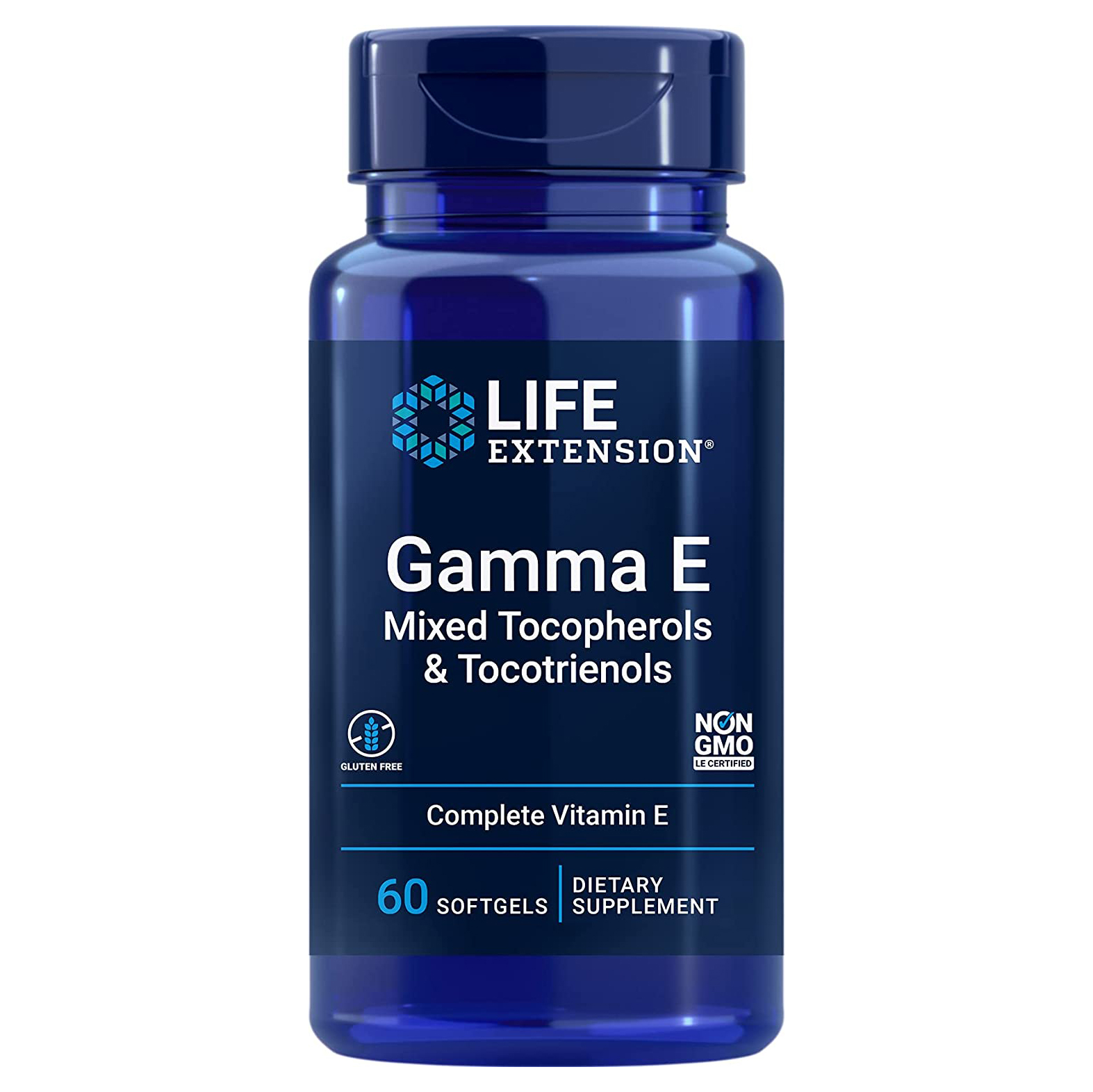 Life Extension 新生活 ライフエクステンション ガンマE 60ソフトジェル 海外直送品 超激安特価 トリエノール トコフェロールトコ