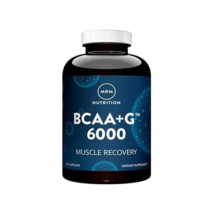 MRM Nutrition MRMニュートリション BCAA + 海外直送品 新作 大人気 マッスルリカバリー 150カプセル G6000 ブランド品